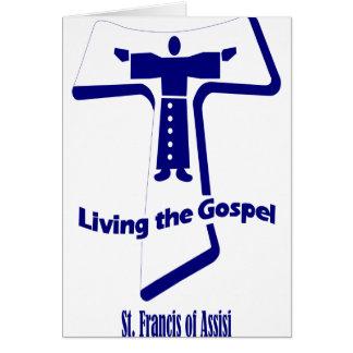 Cartes Le St Francis d'Assisi