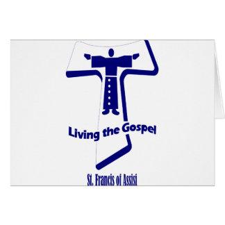 Cartes Le St Francis de la citation d'Assisi