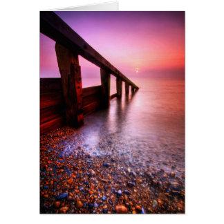 Cartes Le Suffolk 6. de plage d'Aldeburgh - customisé