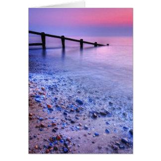 Cartes Le Suffolk 7. de plage d'Aldeburgh - customisé