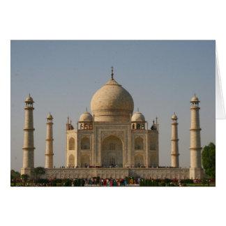 Cartes le Taj Mahal