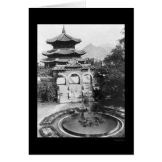 Cartes Le temple du Ciel Séoul Corée 1925