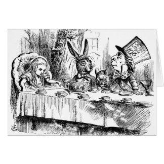 Cartes Le thé du chapelier fou
