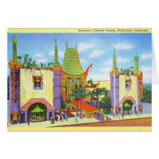 Cartes Le théâtre 1931 chinois de Grauman de cru