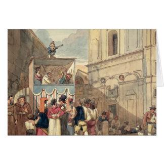 Cartes Le théâtre de marionnette