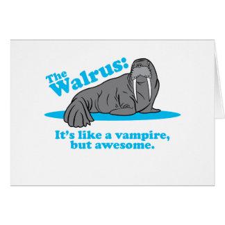 Cartes Le vampire de morse