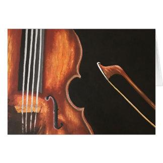 Cartes Le violon et l'arc
