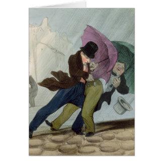 Cartes Le voyage de parapluie, de 'Flibustiers Parisiens