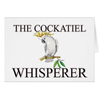 Cartes Le Whisperer de Cockatiel