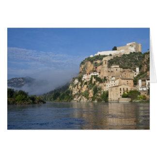 Cartes L'Ebro (Ria Ebre) ; Château de Templar ;  tôt