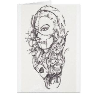 Cartes l'édition limitée de l'original 2012 de masque