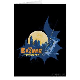 Cartes Légendes urbaines de Batman - paysage urbain foncé