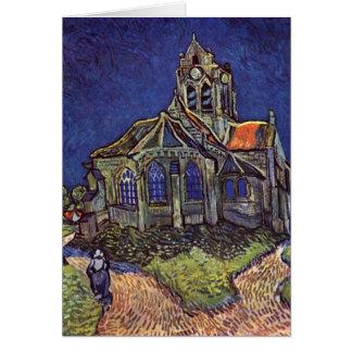 Cartes L'église à l'Auvers-sur-Oise par Vincent van Gogh