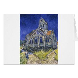 Cartes L'église dans Auvers par Vincent van Gogh