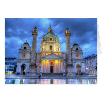 Cartes L'église de Charles de saint à Vienne, Autriche