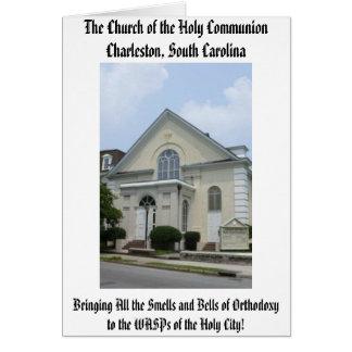 Cartes L'église de la sainte communion