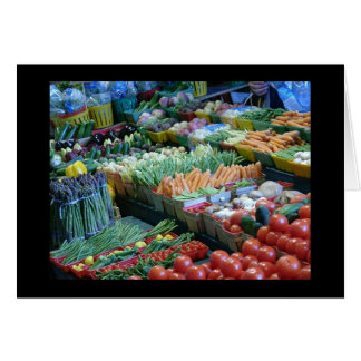 Cartes Légume au marché d'Atwater