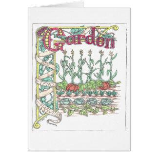 Cartes Légumes de jardin