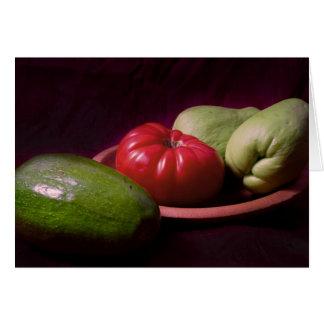Cartes Légumes des tropiques