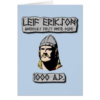 Cartes Leif Erikson : Le premier type blanc de l'Amérique