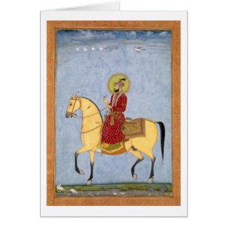 Cartes L'empereur Farrukhsiyar (1683-1719) de Mughal