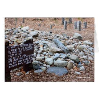 Cartes l'emplacement des *Thoreau de la base de cabine
