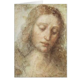 Cartes Léonard de Vinci - le Christ