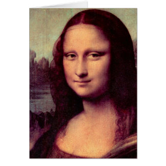 Cartes Leonardo da Vinci - Mona Lisa (détail)