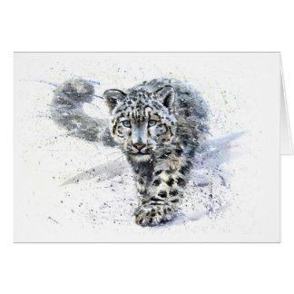 Cartes Léopard de neige