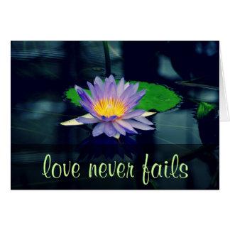 Cartes Les attributs du 13:4 de Corinthiens de l'amour 1