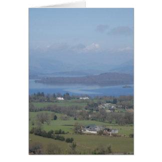 Cartes Les banques mignonnes de Loch Lomond