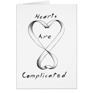 Cartes Les coeurs sont compliqués