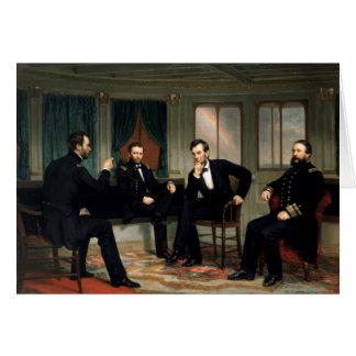 Cartes Les conciliateurs avec Abraham Lincoln