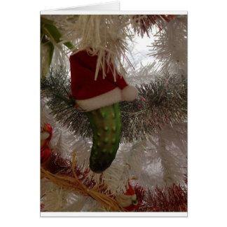 Cartes Les conserves au vinaigre de Noël