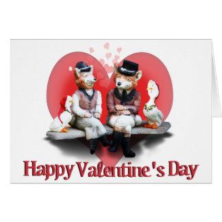 Cartes Les couples rusés de Saint-Valentin