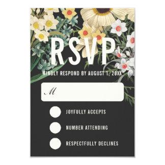 Cartes les épousant rêveuses botaniques de RSVP