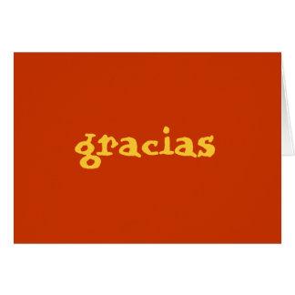 Cartes les Espagnols vous remercient de noter