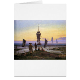 Cartes Les étapes de la vie par Caspar David Friedrich