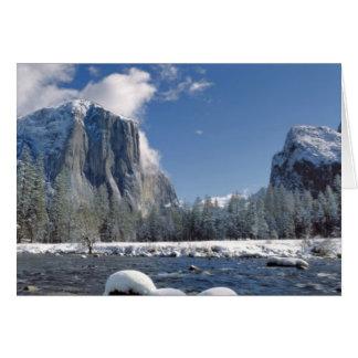 Cartes Les Etats-Unis, la Californie, Yosemite NP. La