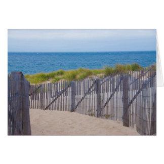 Cartes Les Etats-Unis, le Massachusetts. Dunes et chemin
