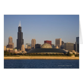 Cartes Les Etats-Unis, l'Illinois, Chicago, horizon de