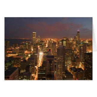 Cartes Les Etats-Unis, l'Illinois, Chicago : Vue de