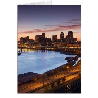 Cartes Les Etats-Unis, Minnesota, Minneapolis, St Paul 2