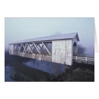 Cartes Les Etats-Unis, Orégon. Envergures de pont couvert