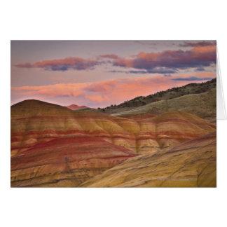 Cartes Les Etats-Unis, Orégon, Mitchell, collines peintes