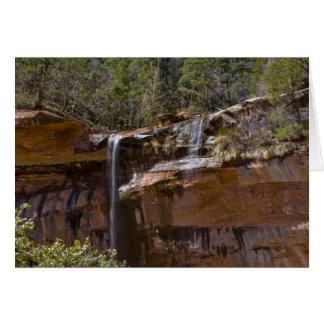 Cartes Les Etats-Unis, Utah, parc national de Zion, l'eau