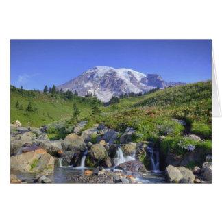 Cartes Les Etats-Unis, Washington, mont Rainier NP, mont