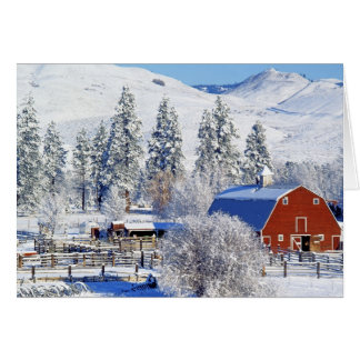 Cartes Les Etats-Unis, Washington, vallée de Methow,