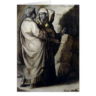 Cartes Les femmes saintes à la tombe 2