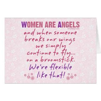 Cartes Les femmes sont des anges